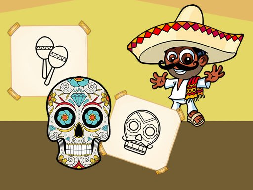 Play Crazy Mexican Coloring Book Now!