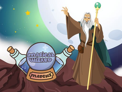 Play Magical Wizard Match 3 Now!