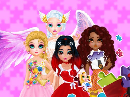 Play Puzzles - Princesses and Angels New Look Now!