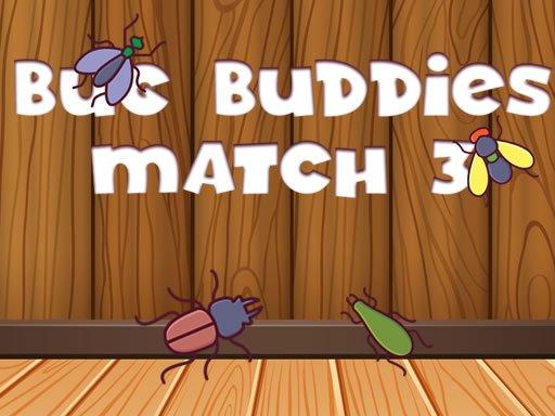 Play Bug Buddies Match 3 Now!