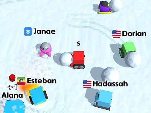 Play Snow War .io Now!