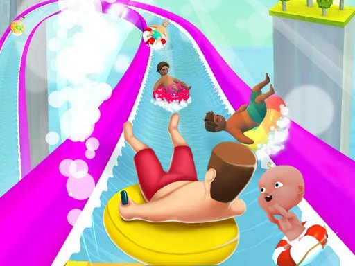 Play WaterPark Slide.io Now!