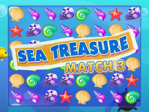Play Sea Treasure Match 3 Now!