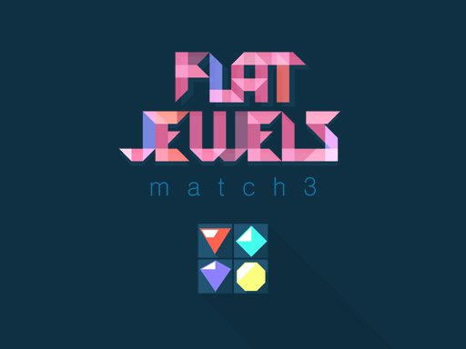 Play Flat Jewels Match 3 Now!